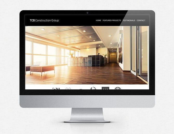 TCB Construction website